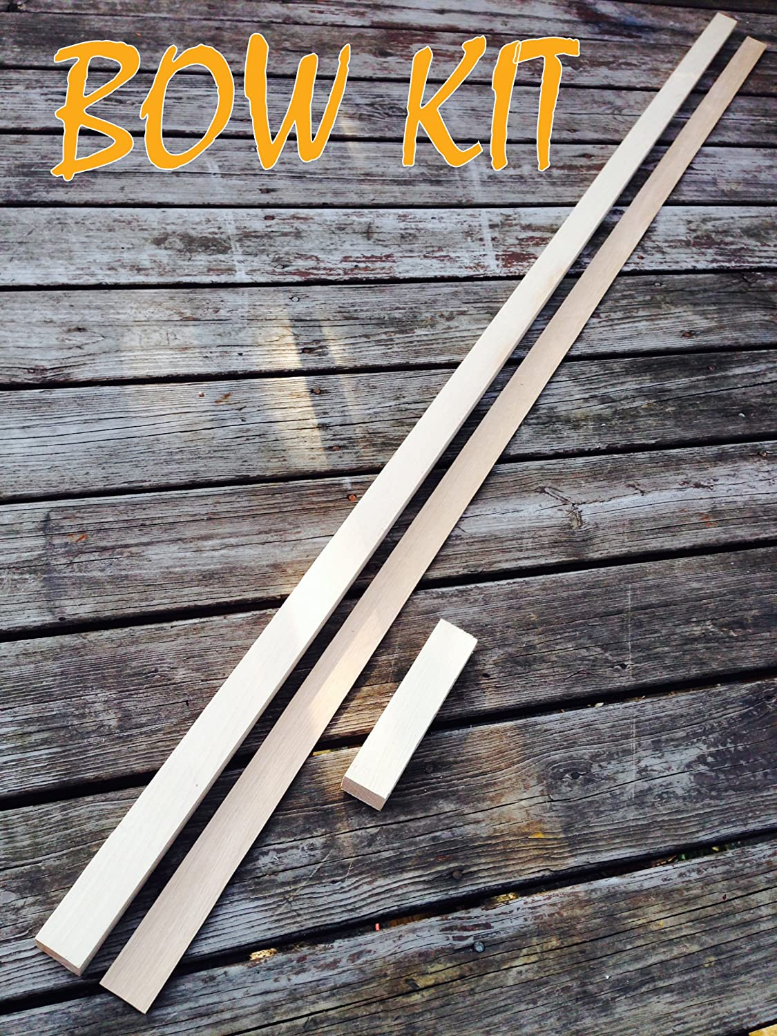 Hickory Bow Kit All items free shipping Premium free Grain for Perfect Custom Bows