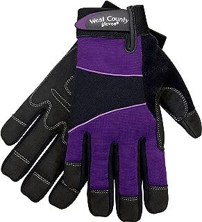 West County Gardener 012I/M Women's Work Glove, Medium, Iris