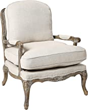 Homelegance Parlier Show Wood Accent Chair, Neutral