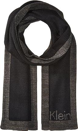 Calvin Klein - Knit Jacquard Logo Scarf