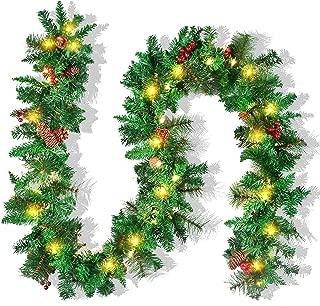 Best light up christmas garland Reviews