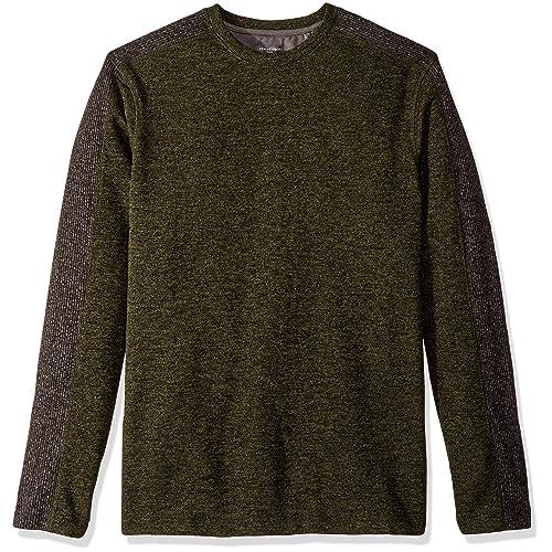 6ef9baf40f565a Van Heusen Men s Big and Tall Flex Sweater Fleece Crew