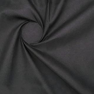 """ZAIONE Solid Colors Fabric Black Cotton Fabric by The Yard 43"""" Quilting Sewing DIY Art Crafts Patchwork"""