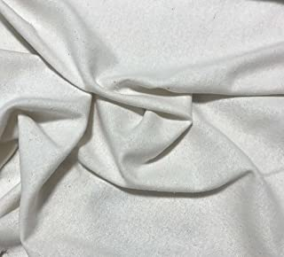Natural White - Raw Silk Noil Fabric