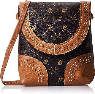 BHPC Womens Crossbody Bag, BROWN - BHVA4712BN
