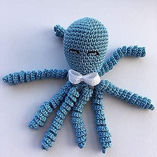 Crochet Octopus for babies - Light blue