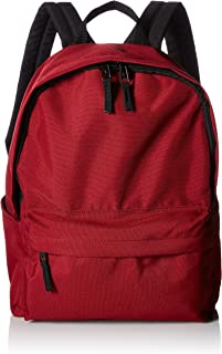 AmazonBasics Classic School Backpack - Red