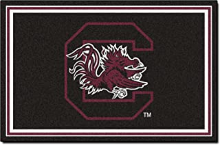 FANMATS NCAA University of South Carolina Game Nylon Face 5X8 Plush Rug