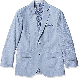 Perry Ellis Men's Slim Fit Cotton Blazer Business Suit Jacket