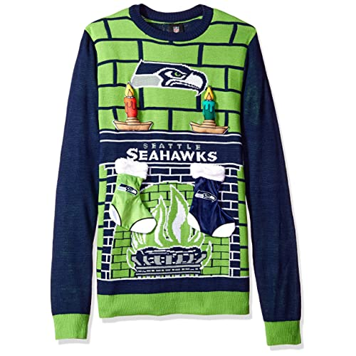 huge discount db87e 4dc82 Seattle Seahawks Ugly Christmas Sweater: Amazon.com