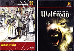 The History Channel : Witch Hunt - The Salem Witch Trials , the Real Wolfman : Collectors 2 Pack Gift Set