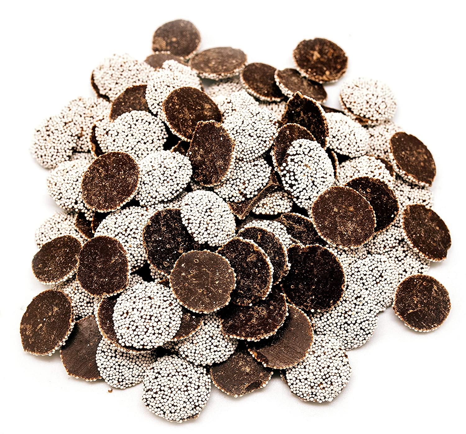 Dark Chocolate Nonpareils Super intense SALE - 3 Bombing new work LB Up Candy Bag Stand Resealable