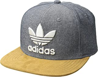 78415669e4e adidas Men s Originals Trefoil Plus Precurve Structured Cap