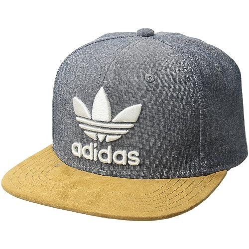 6222456975f adidas Men s Originals Trefoil Plus Precurve Structured Cap