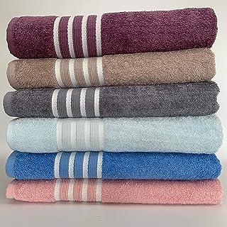B EVENT% 100 Cotton Bath Towel – Soft Textured Absorbent Large Towels For Bathroom, Spa, Gym 100 cm X 150 cm (Pink)