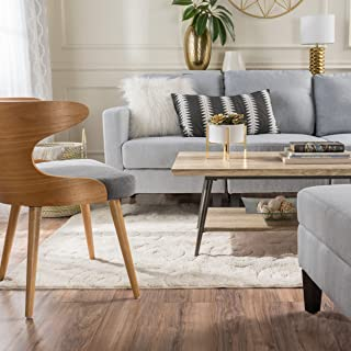 Christopher Knight Home Ditmas Canyon Grey Wood Mid Century Modern Coffee Table, Gray