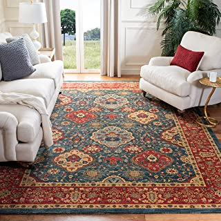 Safavieh Mahal Collection MAH655C Traditional Oriental Navy and Red Area Rug (9' x 12')