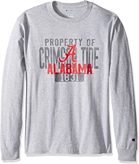 Champion NCAA Men's Long Sleeve Officially Licensed Established School Shirt