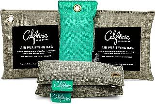 Bamboo Charcoal Air Purifying Bag (5 Pack) Bundle, Natural Air Fresheners & Odor Eliminators for Home, Bad Air Deodorizer, Closet Freshener, Fridge Deodorizer, Car Air Purifier, Shoe Odor Eliminator