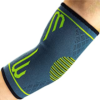 Elbow Compression Sleeve, Support Brace, Best for Tennis Golf Weightlifting Men Women, Tendonitis Recovery Wrap (1 pc)