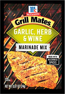 McCormick Grill Mates Garlic, Herb & Wine Marinade Mix, 0.87 oz
