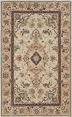 Safavieh Kashan Collection KSN305K Traditional Ivory and Red Area Rug 26 x 8 KSN305K-28