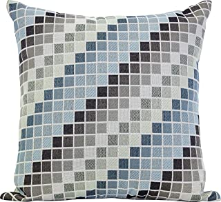 Urban Loft by Westex Westex Tetris Cool Feather Filled Decorative Throw Pillow Cushion, 20