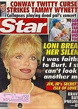 Loni Anderson, Conway Twitty, Tammy Wynette, Garth Brooks, John F. Kennedy, Jr., Daryl Hannah, Jack Scalia, Jackie Collins - August 17, 1993 Star Magazine