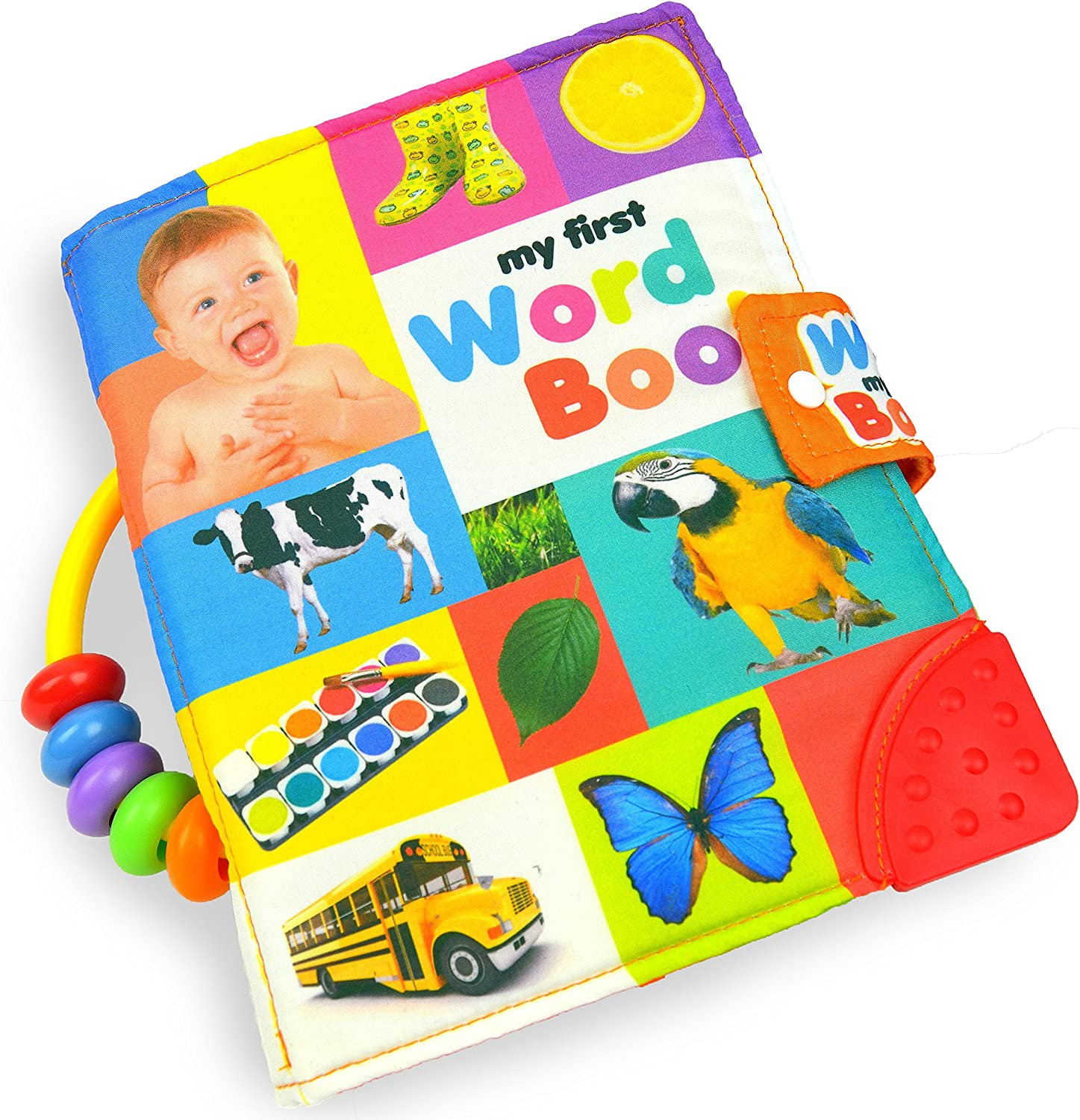 Soft Book Cloth Book Baby Toddler First Word Book