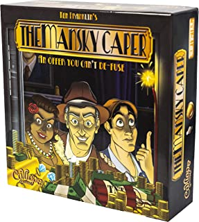 The Mansky Caper - Family Board Game for 2 to 6 Players