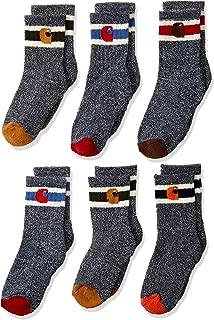 Boys' Camp Crew Sock-6 Pair Pack