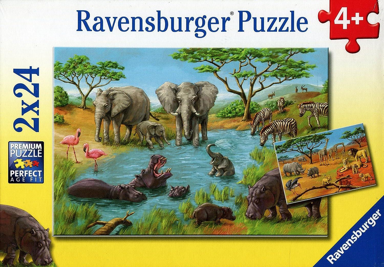 RavensburgerIn The Wild (2X24PC) Puzzles
