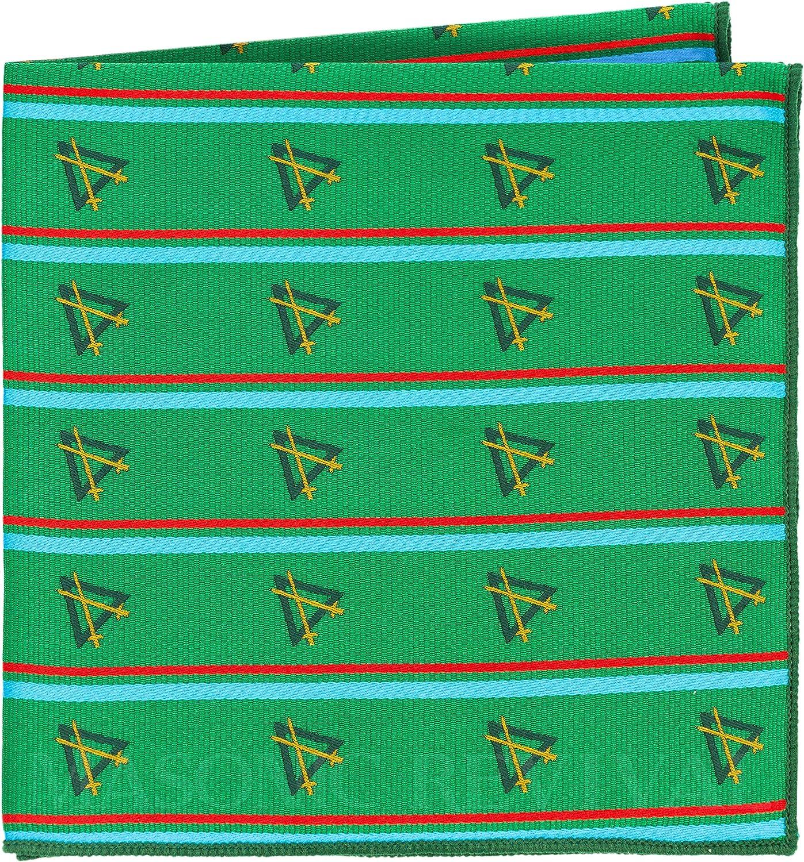Knight Mason Pocket Square Handkerchief by Masonic Revival