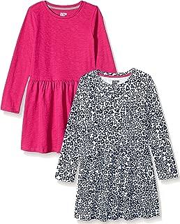 Amazon Brand - Spotted Zebra Girls' Toddler & Kids Knit Long-Sleeve Play Dress