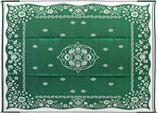 Camco 42850 Oriental Awning Leisure Mat-Green 9' x 12'