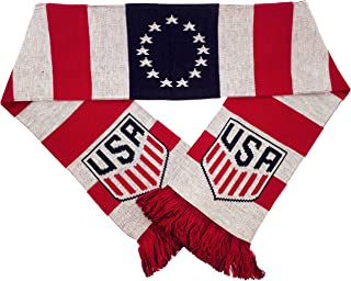Ruffneck Scarves Official US Soccer Scarf - Colonial