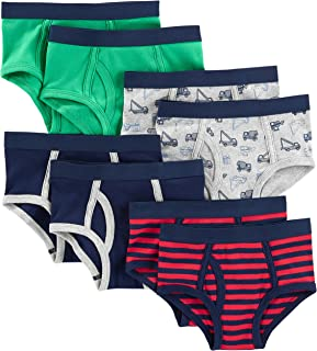 Simple Joys by Carter's 8-Pack Underwear Briefs-Underwear Niños (Pack de 8)