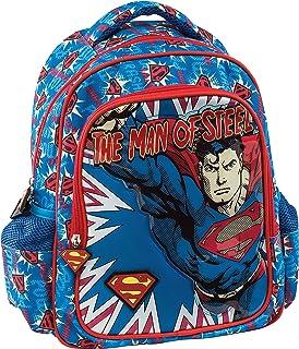 Graffiti Superman Zaino, 30 cm, Blu (Blue)
