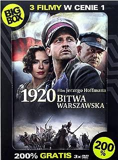 Big BOX 200%: 1920 Bitwa Warszawska / Testosteron / Szybcy I WĹciekli [BOX] [3DVD]+[3xKSIÄĹťKA] (English subtitles)