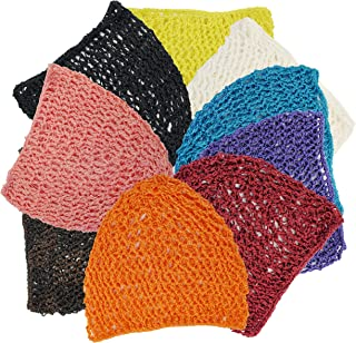 Yes!Fresh 1 Size Hair Net Snood-6 Same Color in 1 Pack(Select 9