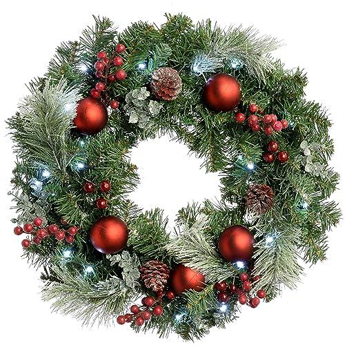 Christmas Door Decorations Amazon Co Uk