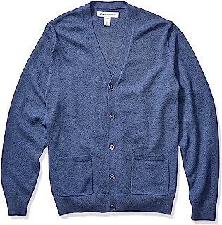 Amazon Essentials Men`s Cotton Cardigan Sweater