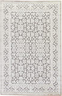 Jaipur Living Regal Oriental Gray/Silver Area Rug (9' X 12')