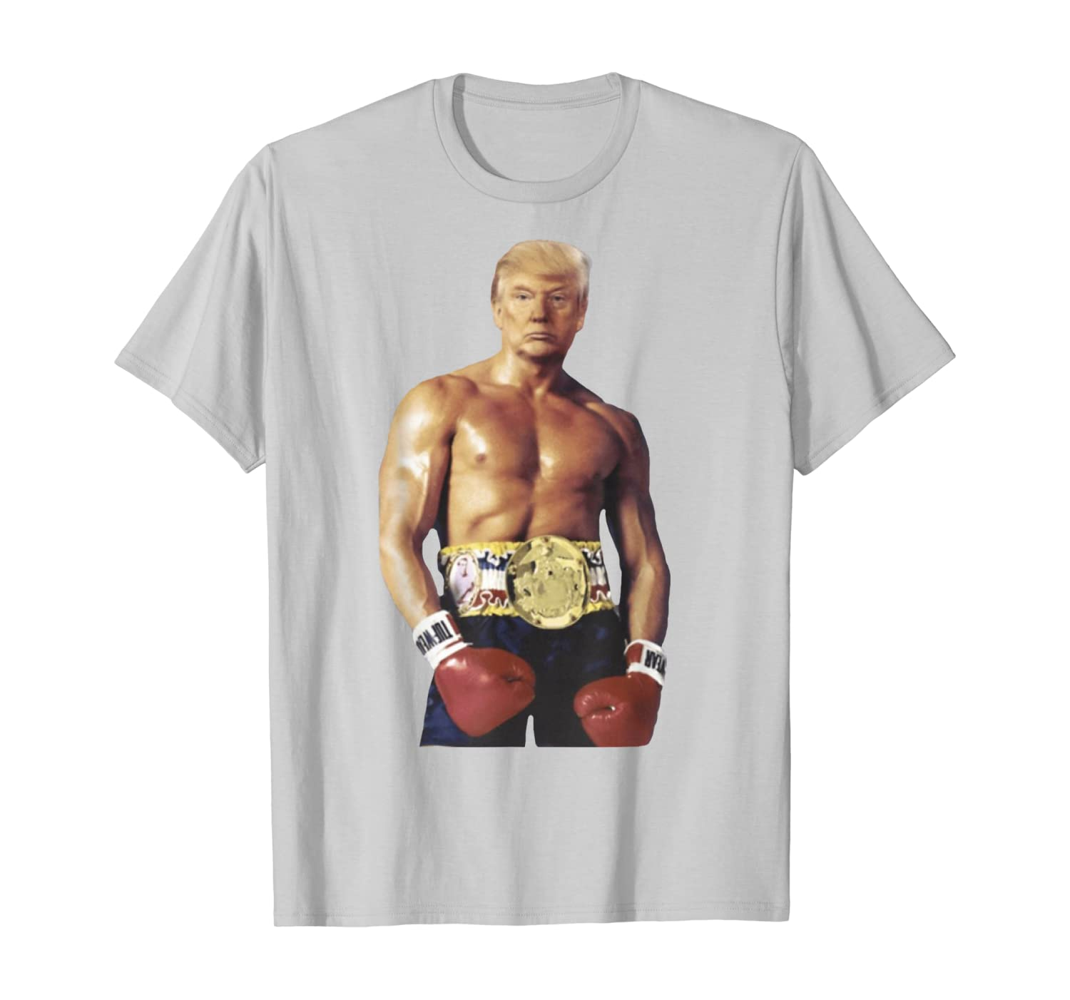 Funny Boxer Trump Rocky K.O Boxing T-Shirt