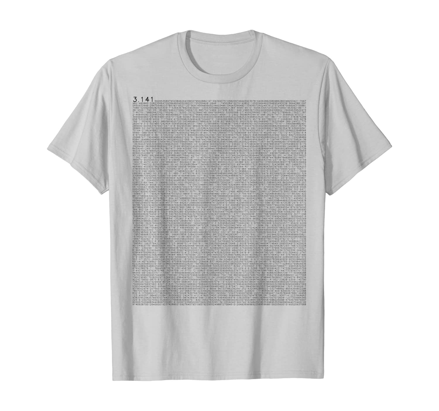10000 Decimals Pi math outfit gift nerd carnival costume T-Shirt