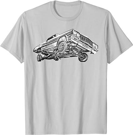 Lowrider 64 Impala 3 Wheel baby Infant One Piece Bodysuit Shirt boys girls unisex
