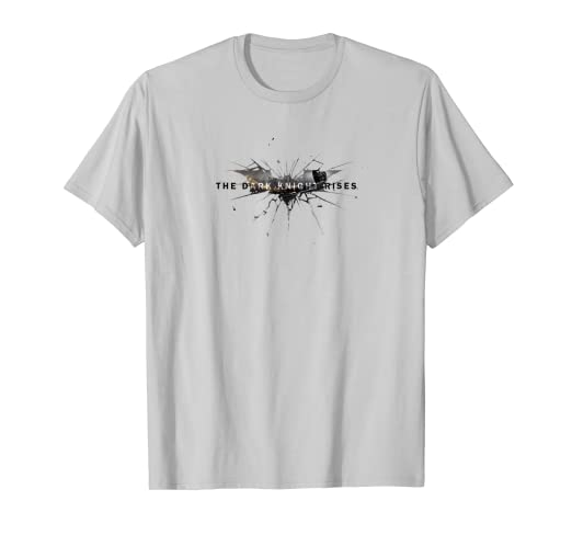7ace51ce6 Image Unavailable. Image not available for. Color: Batman Dark Knight Rises  Rise Logo T Shirt