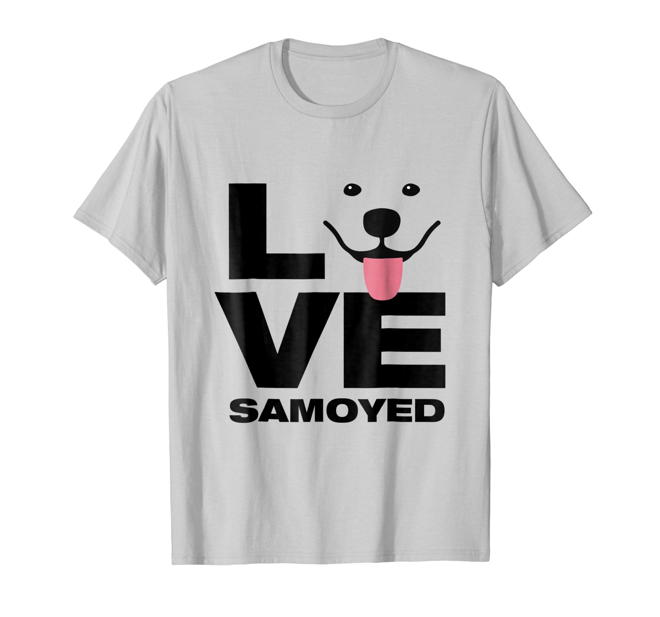 Love Samoyed Light T Shirt-Teehay