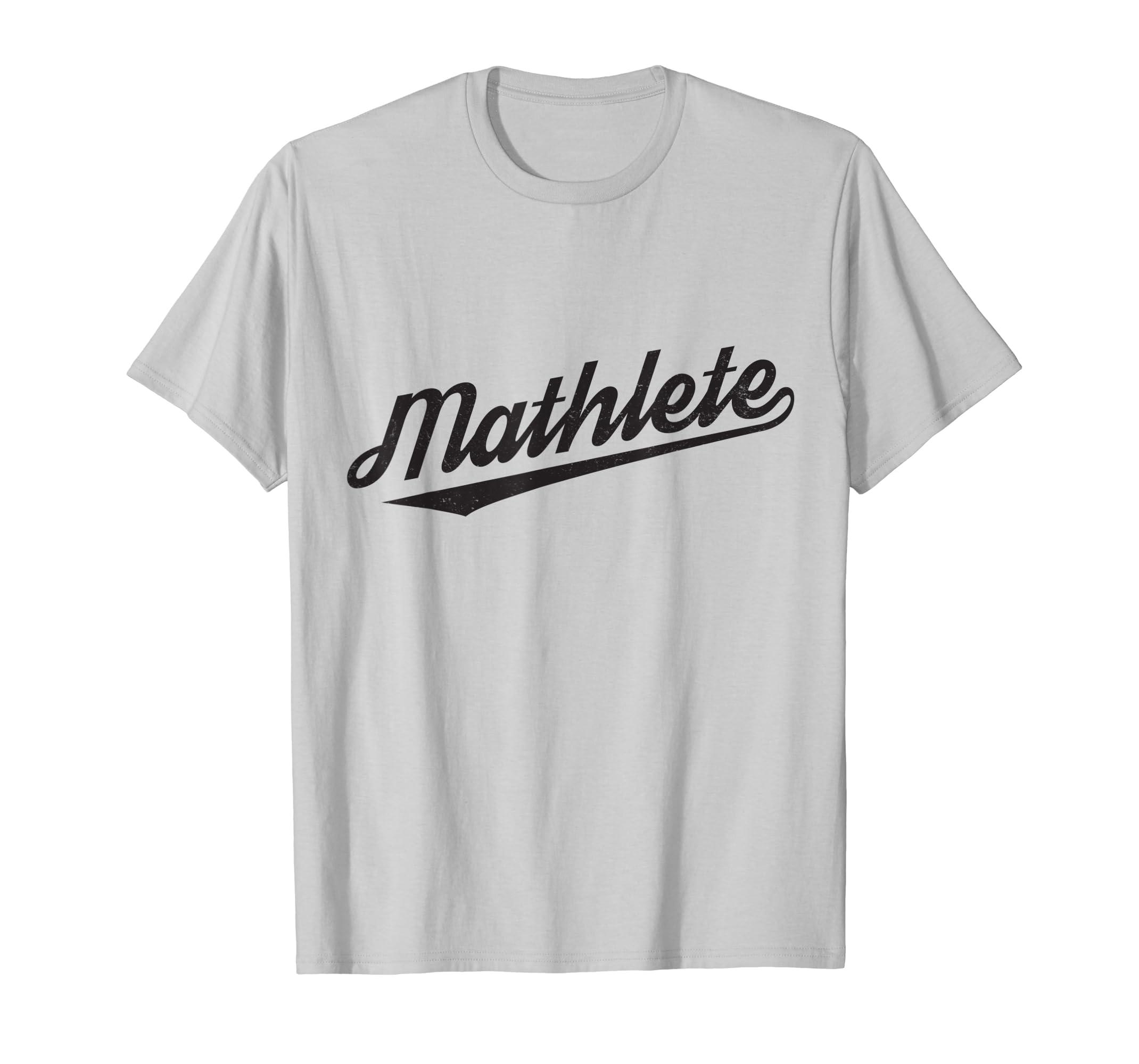 e8c969bf Amazon.com: Vintage Mathlete Funny Math T Shirt: Clothing