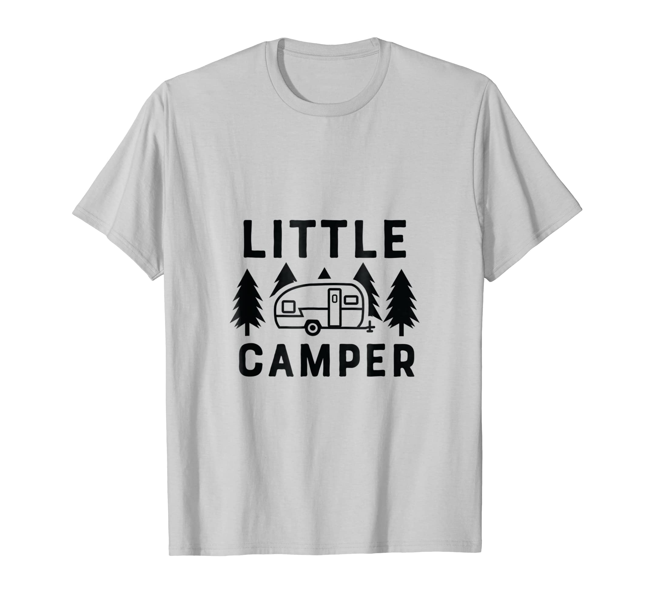 059ca690c Amazon.com: Little Camper Cute Graphics Tee Shirt for Kids Boys Girls:  Clothing